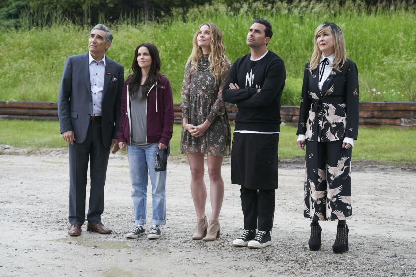 """The cast of """"Schitt's Creek."""""""