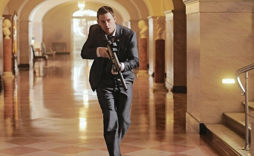 Hollywood storms the West Wing with two movies