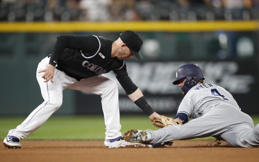 APphoto_Padres Rockies Baseball