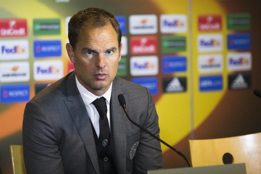 En la imagen, entrenador del Atlanta United, de la MLS, el holandés Frank de Boer. EFE/Archivo
