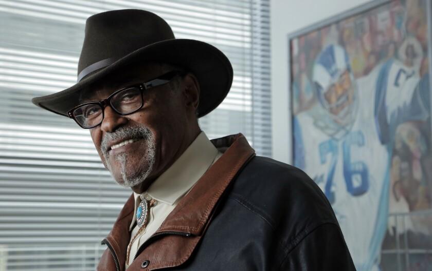 941b6a488 California politics updates: Rams football legend Rosey Grier ends ...