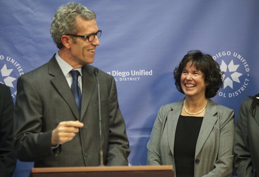 Cindy Marten named Superintendent to San Diego Unified School District