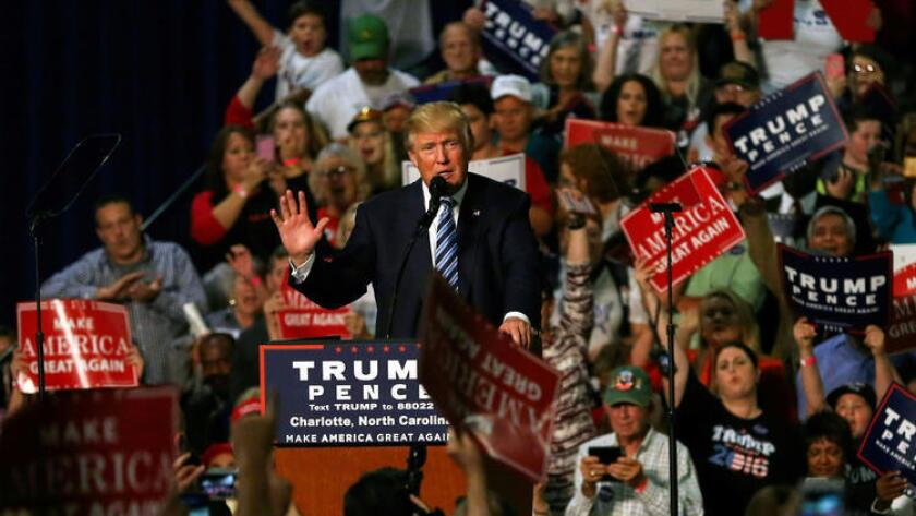 Donald Trump, candidato a la Casa Blanca.