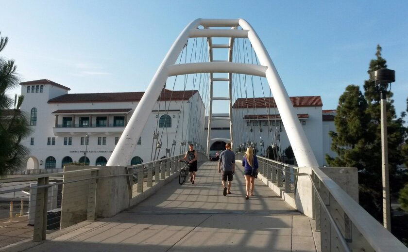 SDSU Pedestrian Bridge