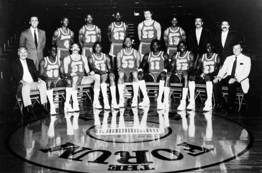 The 1984–85 NBA Champion Los Angeles Lakers