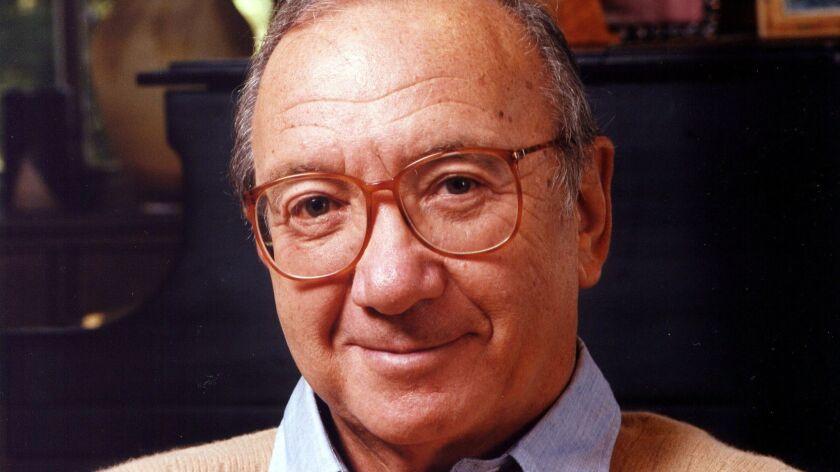 CA.0306.Simon.1–– Neil Simon. COURTESY OF: Geffen Playhouse
