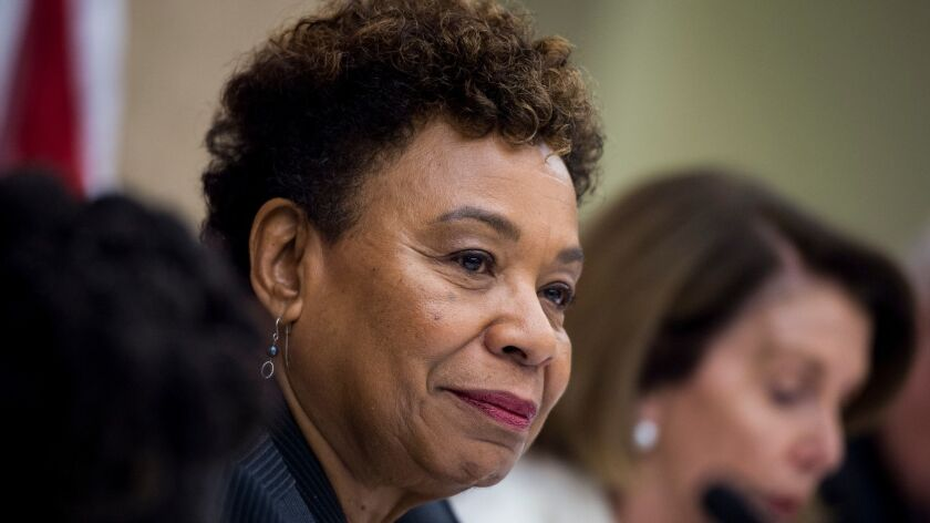 Rep. Barbara Lee of Oakland said ageism and sexism were at play after she lost her bid to lead the House Democratic Caucus.