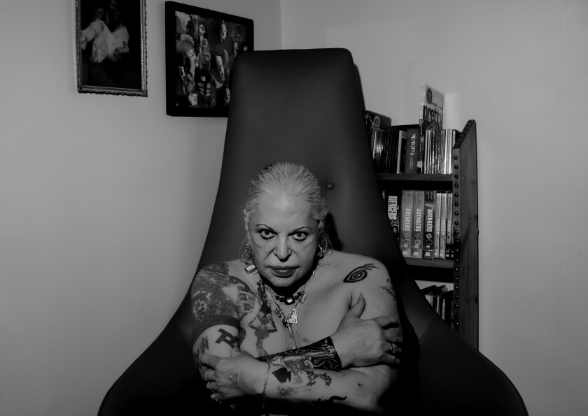 Genesis Breyer P-Orridge photographed in October.