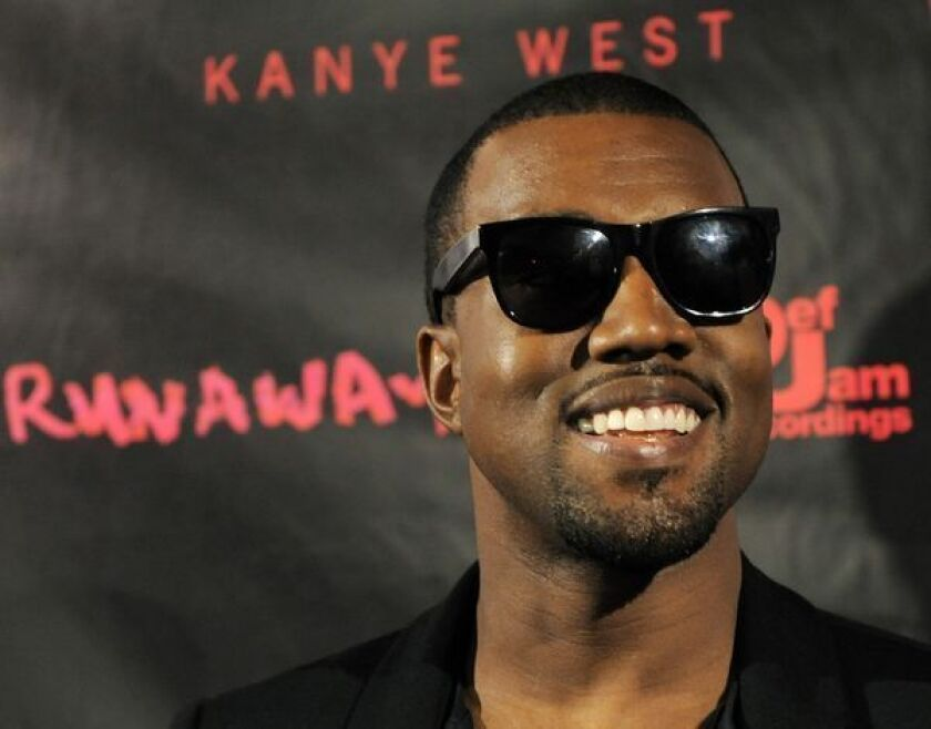 """Kanye West's new album, titled """"Yeezus,"""" is set to arrive June 18."""