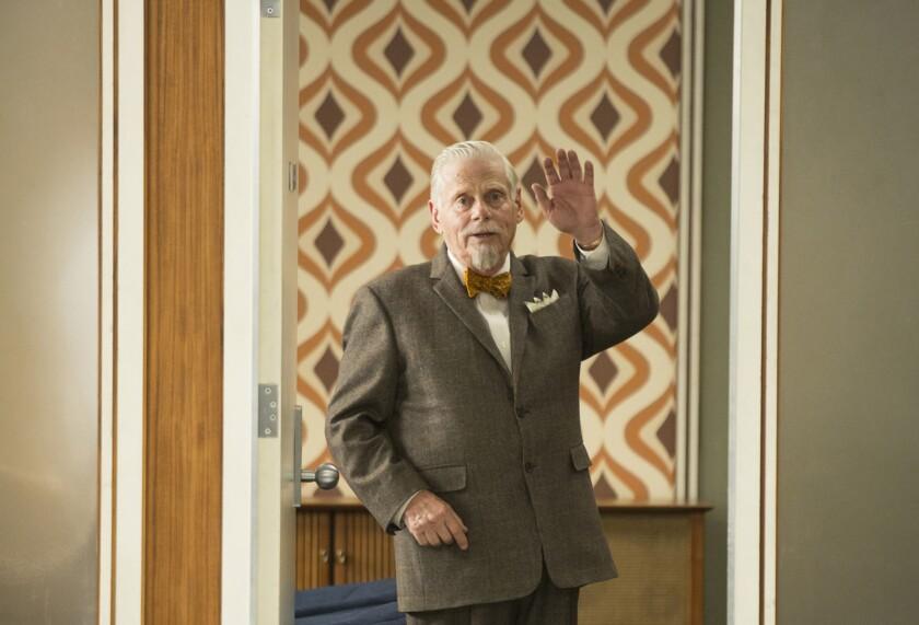 """Robert Morse is the shoe-averse Bertram Cooper in """"Mad Men."""""""