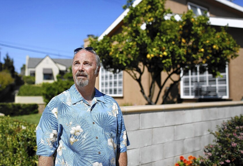 Don Barfield, who lives in Los Angeles' Cheviot Hills neighborhood, says Nextdoor has been helpful after crime reports and a recent power outage.