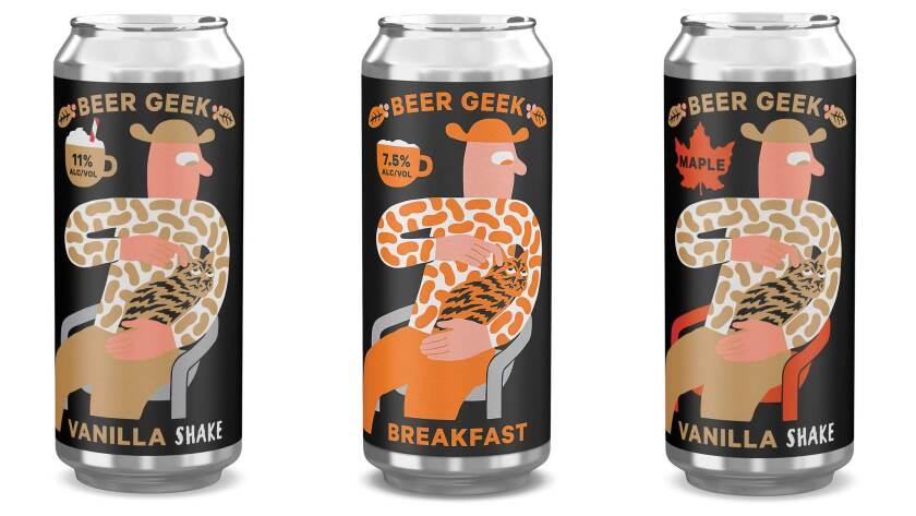 The orignal Mikkeller Beerk Geek comes in various other versions.