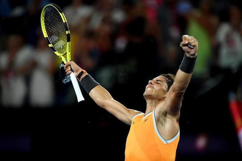 El tenista español, Rafael Nadal. EFE/Archivo