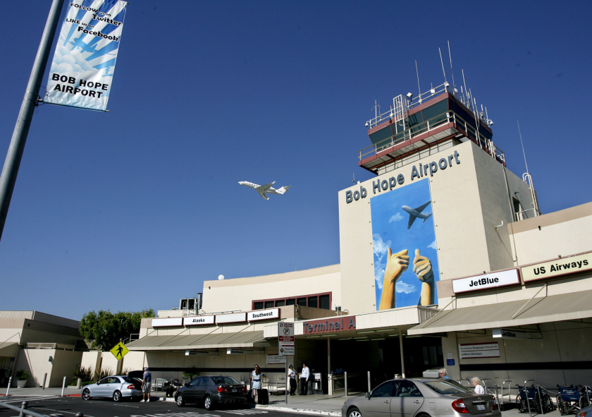 """Bob Hope Airport officials on Monday voted to rebrand the airfield as """"Hollywood Burbank Airport"""" in an effort to draw more passengers from outside of Southern California."""