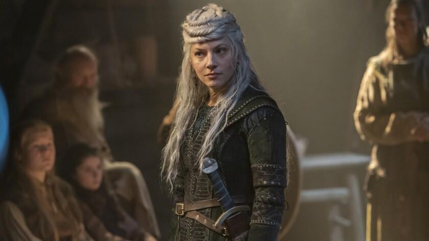 """Katheryn Winnick in """"Vikings"""" on History."""