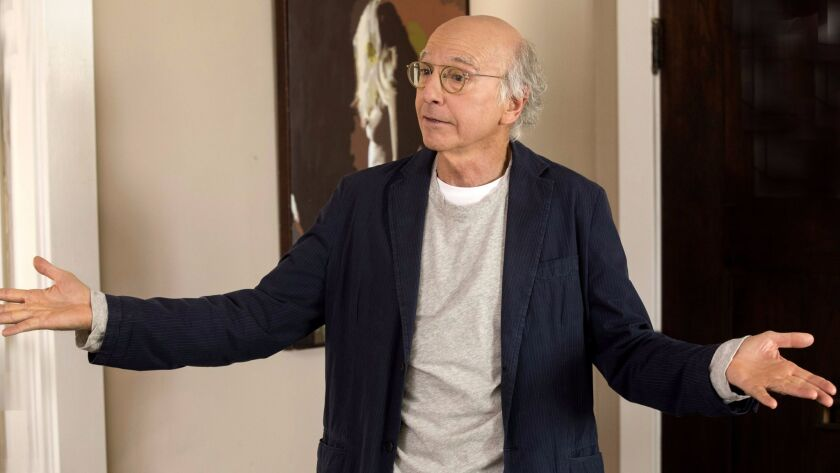 """Larry David is back with """"Curb Your Enthusiasm"""" on HBO."""