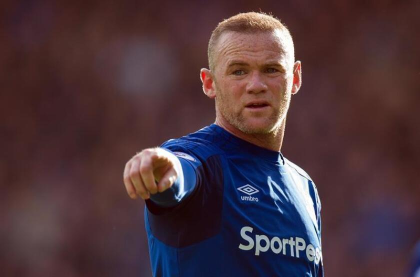 Imagen de archivo del delantero inglés del D.C. United, Wayne Rooney. EFE/Archivo