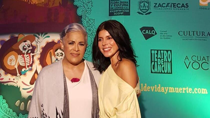 Ely Guerra y Eugenia León engalanaron el Festival.