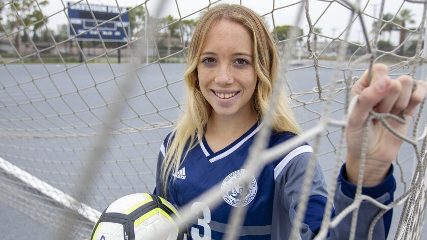 Newport Harbor's Reese Bodas the Daily Pilot High School Female Athlete of the Week.