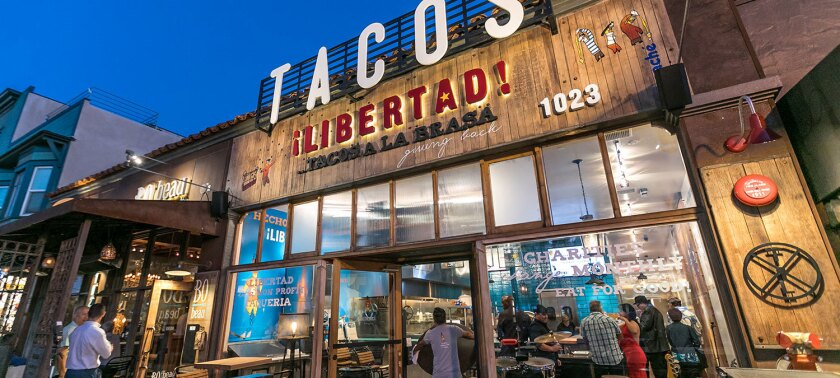 Tacos Libertad in Hillcrest is the Cohn Restaurant Group's more than 2-year-old nonprofit restaurant that channels 100 percent of its profits to a different local charity each month.