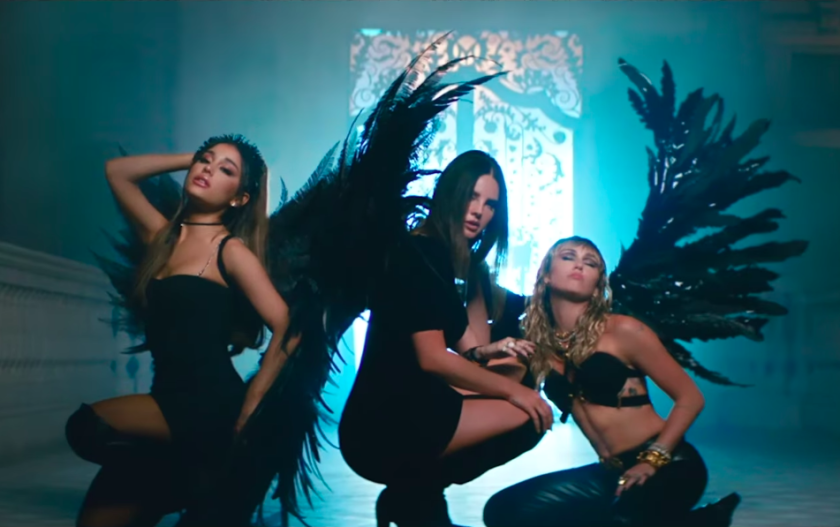 Ariana Grande, Lana Del Rey and Miley Cyrus