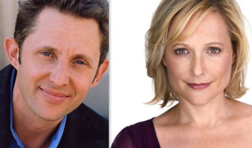 "Todd Weeks and Kate Blumberg will star in La Jolla Playhouse's ""Kingdom City."""