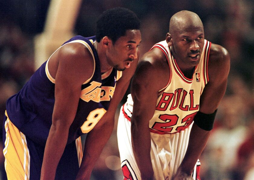 Michael Jordan will present Kobe Bryant for Hall of Fame - Los Angeles Times