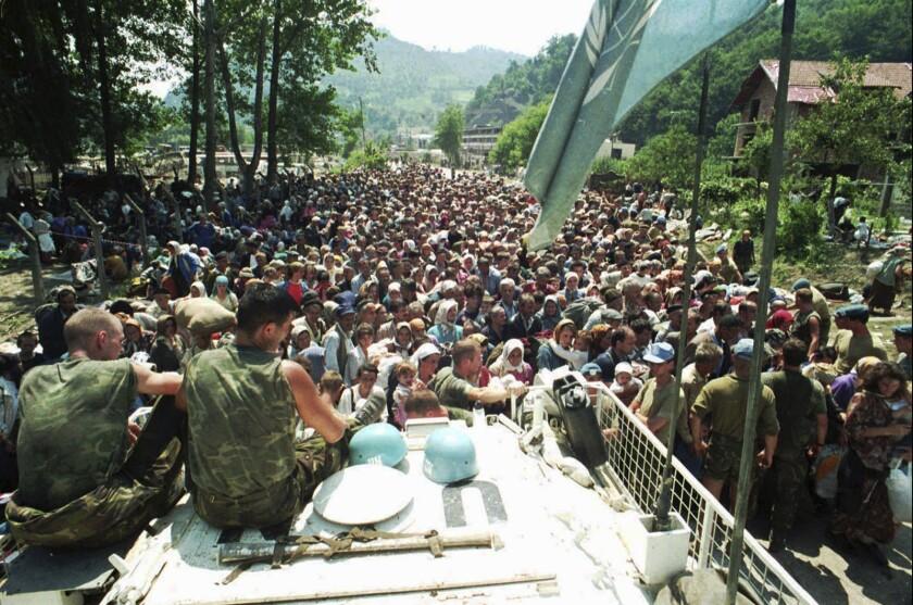 Netherlands Srebrenica