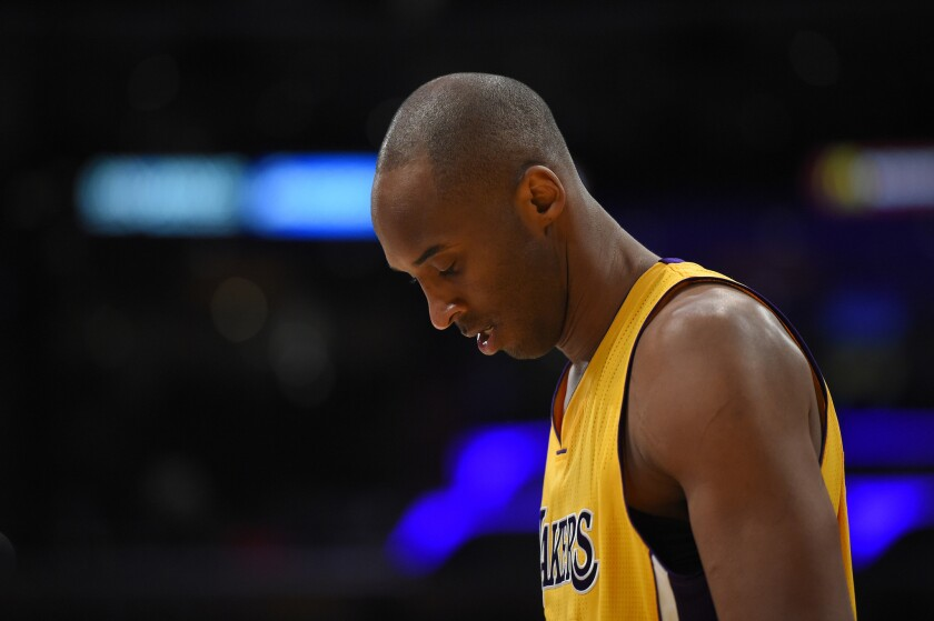 Lakers trainer Gary Vitti wants to shut down Kobe Bryant