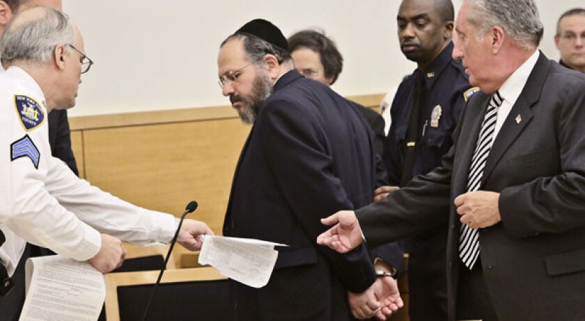 Hasidic counselor sentenced to 103 years in N.Y. child sex case