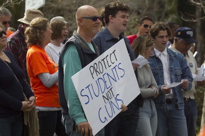 Gun protesters