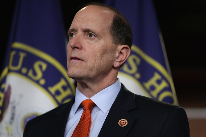 House Ways and Means Committee Chairman David Camp (R-Mich.). He is expected to unveil a bill soon to overhaul the U.S. tax code, slashing rates and eliminating deductions.