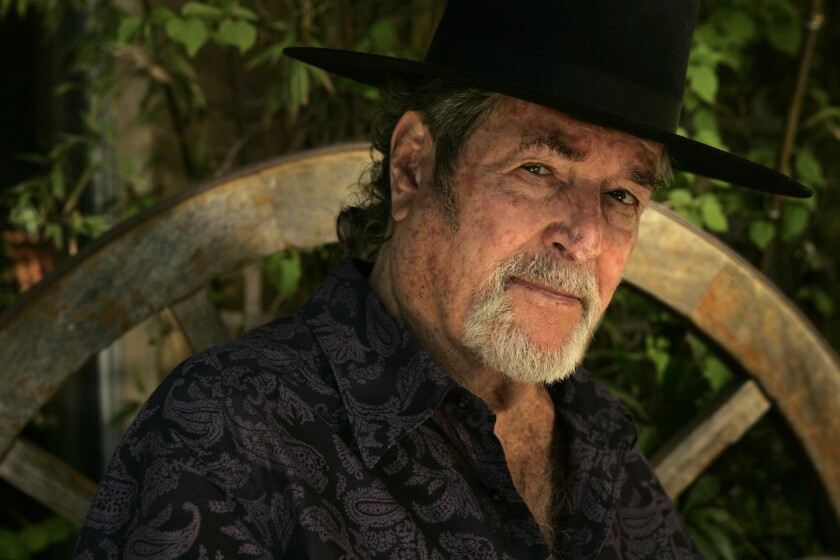 """Hugh O'Brian, star of TV's """"The Life and Legend of Wyatt Earp,"""" in August 2009."""