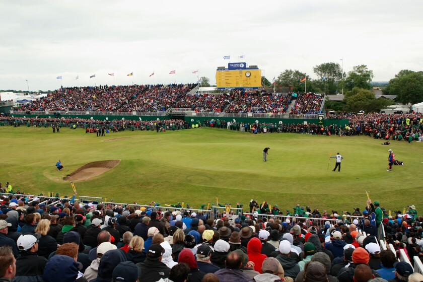 Royal St. George's hosted the British Open in 2011 but won't host this year as planned.
