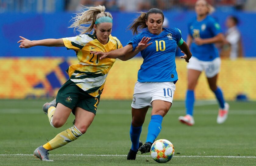 FIFA Women's World Cup 2019, Montpellier, France - 13 Jun 2019