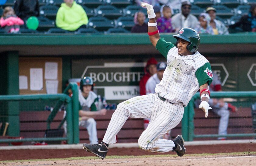 Fort Wayne center fielder Mallex Smith leads the Midwest League in steals. He is also one of three TinCaps to make the midseason all-star game.