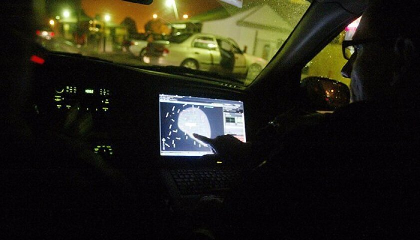 Shotspotter technology. (AP Photo/Mathew Sumner)