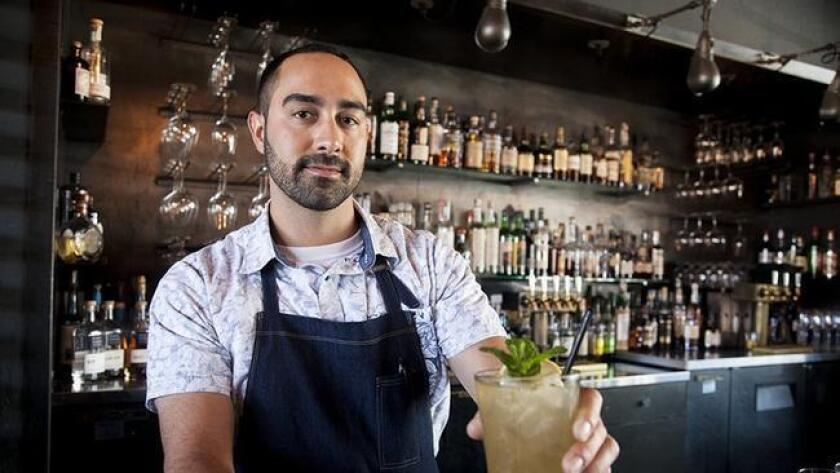 Kris Rizzato, bar manager of