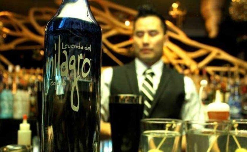 Avenue 5's bartender Mike Yen, who won the San Diego Spirits Festival Bartender Battle in June.
