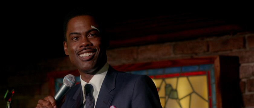 """Chris Rock in """"Top Five,"""" which he wrote, directs and stars in."""