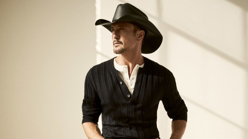 """A photograph of Tim McGraw for his original score featured in the film """"Free Solo."""" Credit: David Ne"""