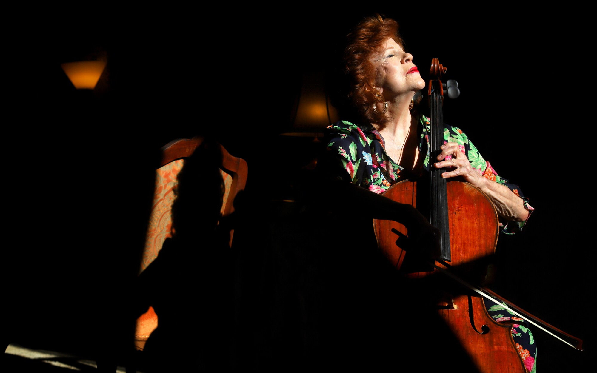 Christine Walevska, a master cellist, has played all over the world during her long career.