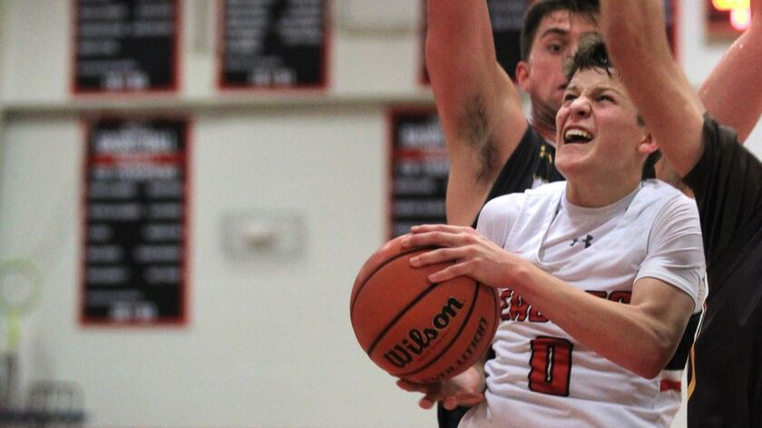 Santa Fe Christian sophomore Keatten Smith led all scorers with 19 points — 14 in the final quarter.