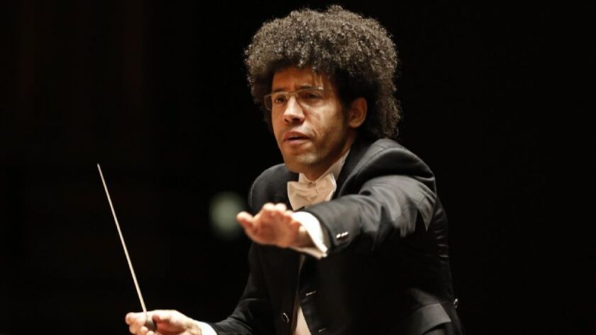 """""""The whole idea is to tell a story,"""" says the San Diego Symphony's new music director, Rafael Payare, of the orchestra's upcoming 2019/2020 concert season."""