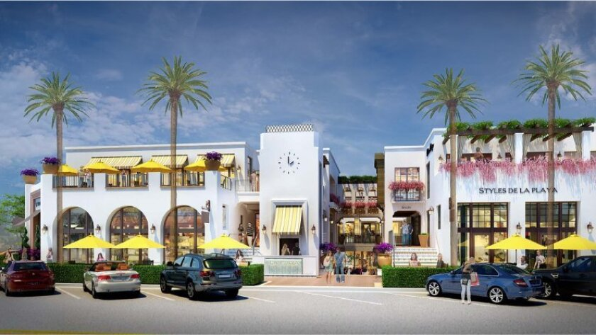 A rendering of La Plaza La Jolla, which is scheduled to open in March 2015.