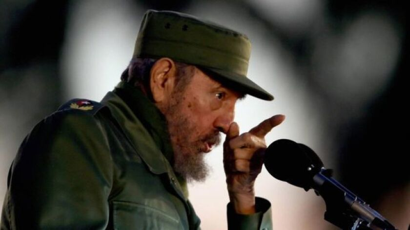 Con esas palabras, el extinto líder cubano Fidel Castro defendió los tres fusilamientos que se realizaron en la isla en 2003, los últimos registrados en la historia de Cuba.