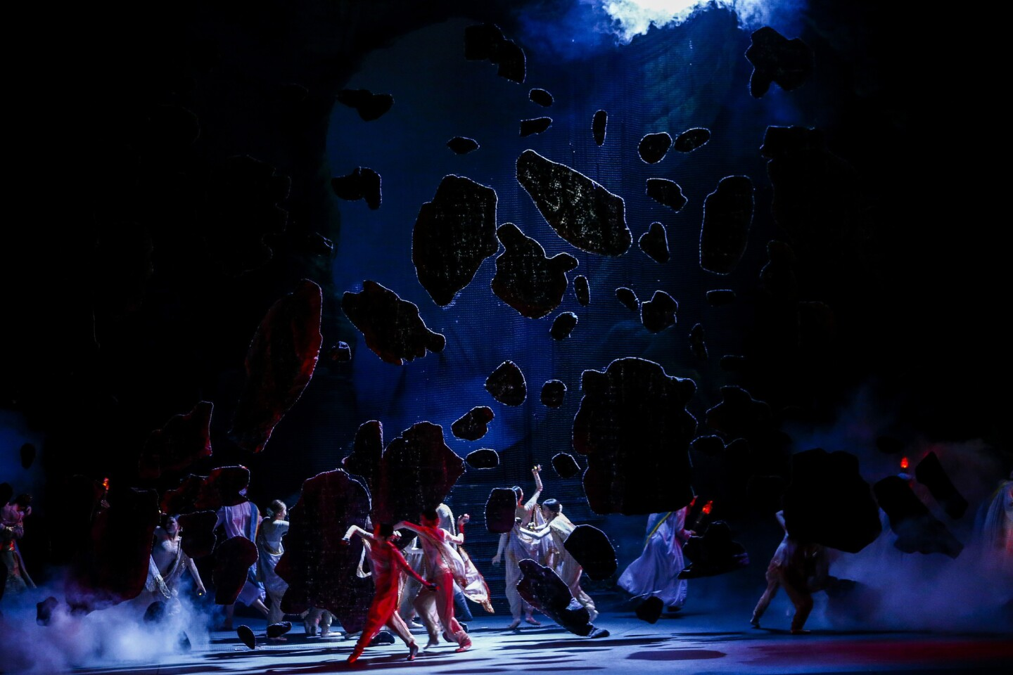 """American Ballet Theatre performs """"La Bayadere"""" at the Music Center's Dorothy Chandler Pavillion in Los Angeles."""
