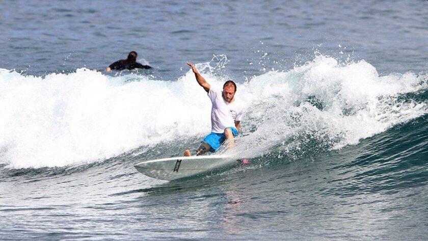 Fabrizio Passetti will represent Italy in the Adaptive Surf Championships debuting in La Jolla Shores Sept. 24-27.