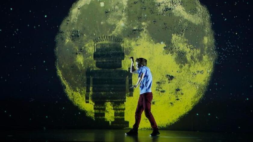 "Merrick Hanna, 12, performs a robot-themed dance to the song ""Lost Boy"" on the Aug. 22 episode of ""A"