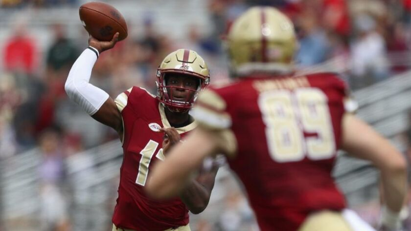 uk availability c63be 75108 College football: Boston College goes to 3-0 - Los Angeles Times